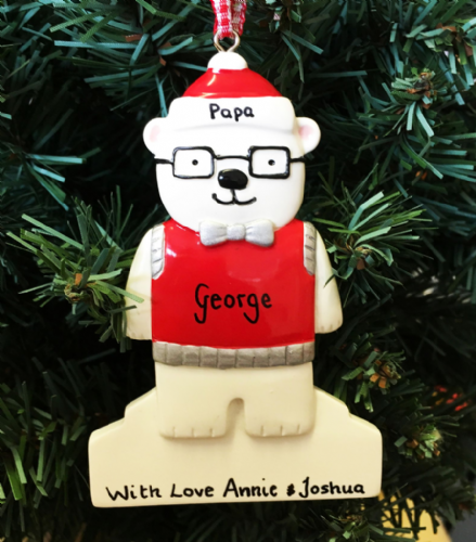 Personalised Polar Bear Man